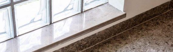 Prozorske klupice izrađene od kamena